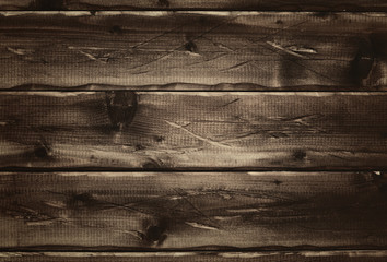 Classic wooden background. The texture of the old knotted wood in the rustic style