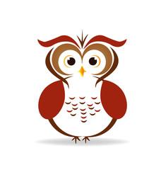 Owl isolated icon