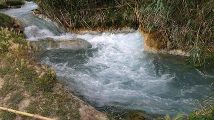 Terme naturali di Saturnia in Toscana