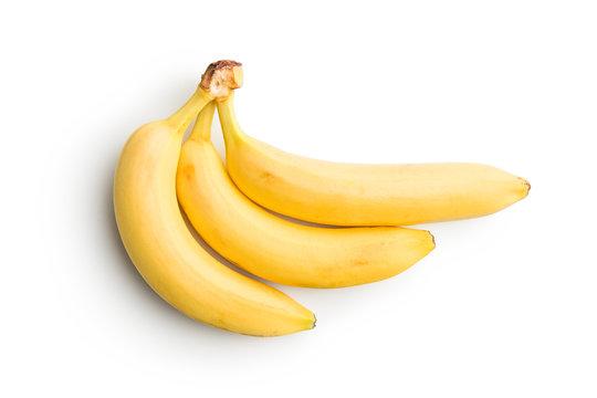 Tasty yellow banana.