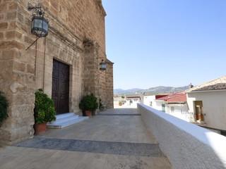 Purchena, localidad de Almería en Andalucía (España) situada en el centro de la comarca del Valle del Almanzora