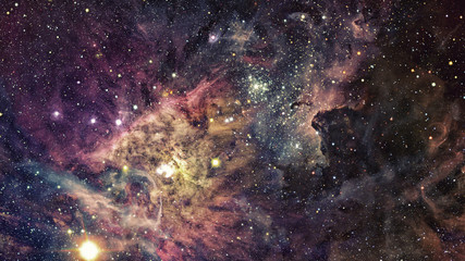 Stars and galaxy space. Elements of this image furnished by NASA.