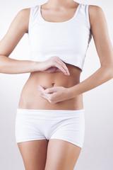 Menstruation. Health care. Stomach pain.
