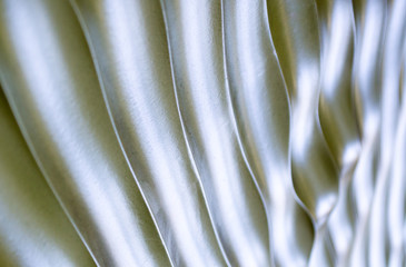 background texture  close up of silver rippled metal