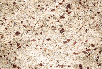 background texture close up of brown and beige stonework pattern