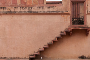 Sandstone Steps At Fatehpur Sikri