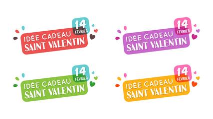 Saint Valentin - Idée Cadeau
