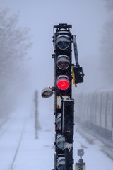 Red light signal