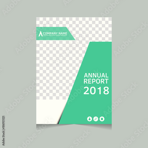 Annual Report, Flyer, Presentation, Brochure. Front Page, Book Cover Layout  Design  Annual Report Cover Page Template