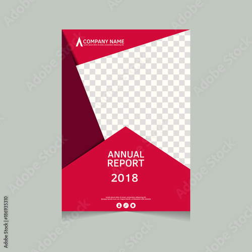annual report, flyer, presentation, brochure. front page, book cover, Presentation Front Page Template, Presentation templates