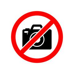 no camera photo vector icon