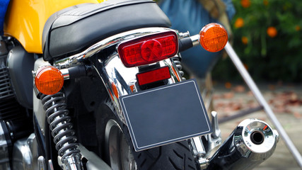 Motorcycle bigbike break and turn signal light