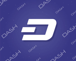 Background dash blockchain style collection