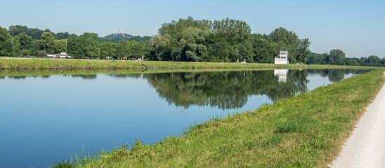 Panorama Main-Donau-Kanal in Franken
