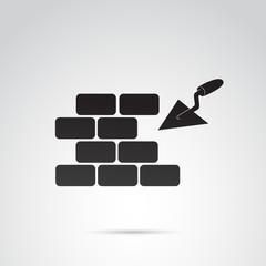 Brick, build vector icon.