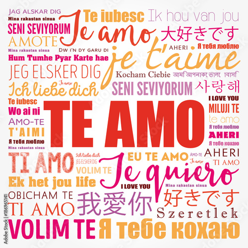 how to say i love you in all languages