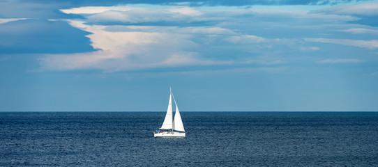 Sailing Ship Yacht - Mediterranean Sea