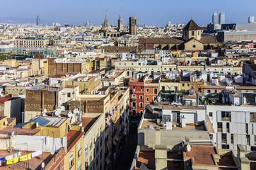 Spain, Barcelona, cityscape