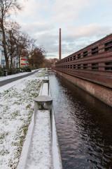 Uferstudios an der Panke in Berlin