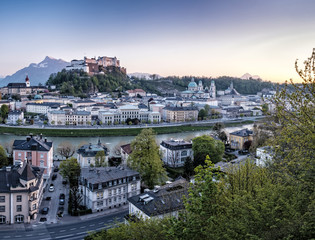 Austria, Salzburg, cityscape