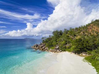 Seychelles, Praslin, beach