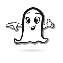 Pointing ghost vector design