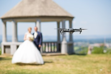 various exploitation of drones, example wedding