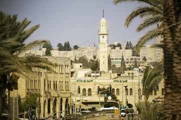 Israel, Jerusalem, street scene