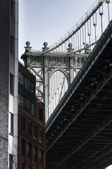 USA, New York City, Manhattan, Manhatten Bridge