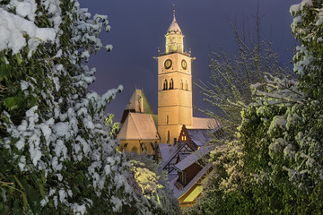 Germany, Uberlingen, Church of St. Nikolaus
