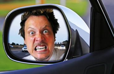 Aggressiver Autofahrer - Very angry car driver