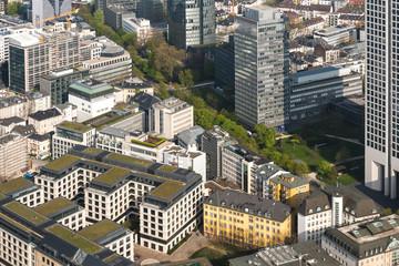 Frankfurt am Main von oben