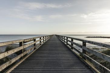 steg in der Ostsee