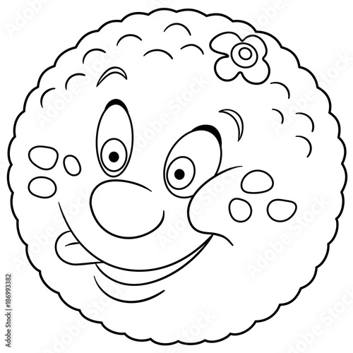 orange cartoon character coloring pages - photo#13
