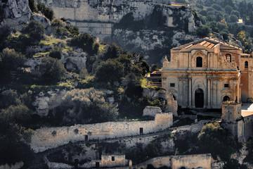 Italy, Sicily, Province of Ragusa, Ragusa, Val di Noto, Church San Mateo