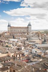 Cityscape with Alcazar, Toledo, Spain