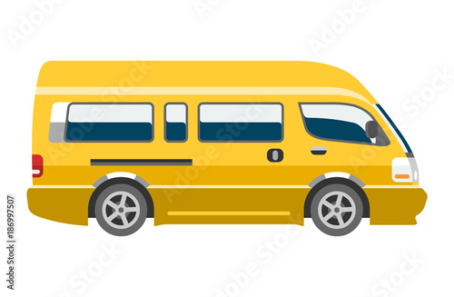f23358c9a8 Minivan car vector van auto vehicle family minibus vehicle and automobile  banner isolated citycar on white