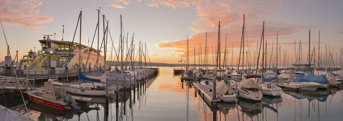 Germany, Constance, Staad marina
