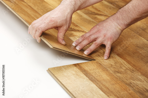 Installing Laminate Flooring Stock Photo And Royalty Free Images On