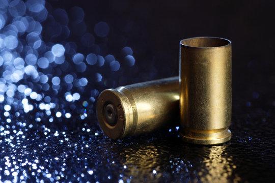 Two Bullet Shells