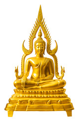 Buddha Chinnarat on white background, Wat Phra That Doi Suthep