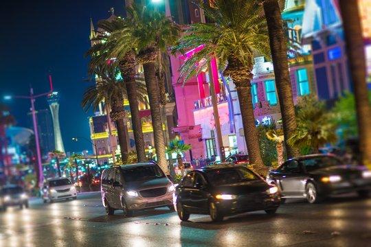 Streets of Las Vegas Nevada