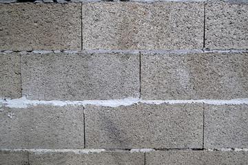 Сinder block texture. Stone background.