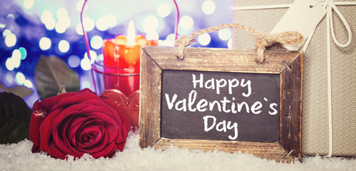 Wall Mural - Happy Valentine`s day Background