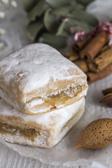 Typical Spanish sweets. Homemade
