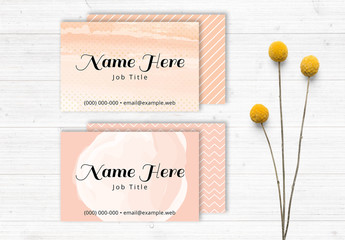 Stylish Business Card Set