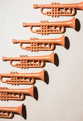 Trumpets .