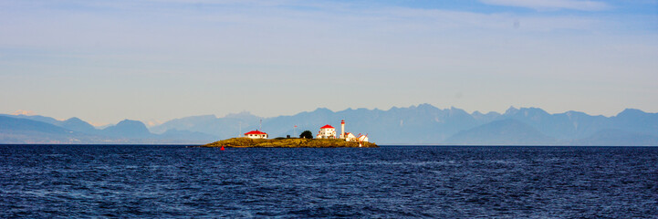 LIghthouse in the Georgia Strait