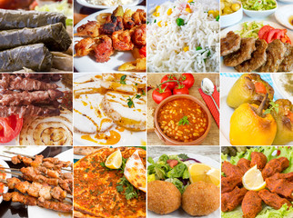 Türk Yemeklerinden Kolaj
