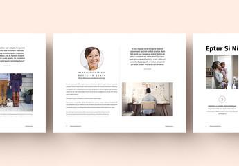 Pastel Presentation Layout